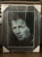Framed And Matted Portrait Painting Of Blues Legend John Hammond