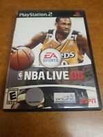 NBA Live 08 (Sony PlayStation 2, 2007)
