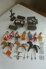 Vintage Playmobil Playpeople Geobra Knights 1974 Job Lot Bundle