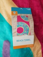 Beach Towel Frosted Donut