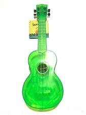 Kala Brand Music Watermelon Fluorescent Green Soprano Ukulele