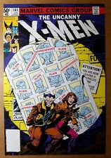 Uncanny X-Men 141 Wolverine Jean Grey Marvel Comics Poster by John Byrne