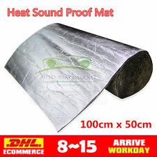 Silent Coat 6mm Pack 5 Sheets Car Van Sound Deadening Vibration Proofing Mat