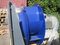 Very Large Industrial Fan 70000m3/hr 18.5KW 400v 3 phase Drying Floor Biomass