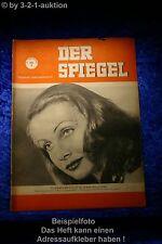 Der Spiegel 3/50 19.1.1950 Schwarzer Ford W-13 446 Gesucht