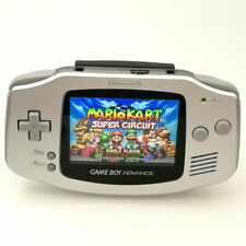 Nintendo Game Boy Advance GBA Silver System 101 Brighter Backlit IPS LCD MOD!