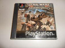 PLAYSTATION 1 PSX ps1 Star Wars Episode 1-JEDI POWER BATTLES (SO)