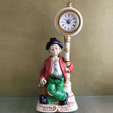 Pennerwilli an der Uhr 39 cm Musik Pfeiffer Figur Spieluhr Melodie in MotionTM