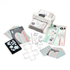 New! Sizzix Big Shot Plus Starter Kit - Classic Die Cutting Machine : 661546