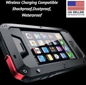 Shockproof Heavy Duty Gorilla Metal Case iPhone 12 11 SE XR XS 8 7 6 Pro Max +