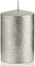Luxus Kerze Papieroptik 150x100 Silber Handarbeit Kerzen Wiedemann Neuheit 2017