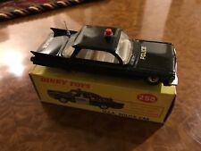 Dinky Toys / NMIB / Cadillac American Police / Black / No. 258