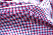 CHECK GINGHAM FABRIC - VINTAGE - RETRO - HIGH QUALITY - EASY TO SEW - 140cm