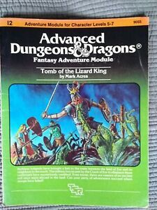 Advanced dungeons and dragons module I2 tomb of the lizard king
