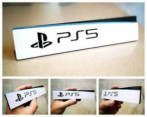 Sony Playstation 5 3D logo / shelf display / fridge magnet - gaming collectible