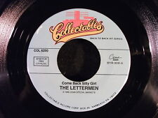 Come Back Silly Girl/Put Your Head On My Shoulder by The Lettermen (COL 6250)