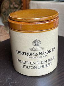 Vintage Fortnum & Mason Stilton Cheese Crock