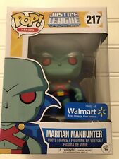 Funko POP! Justice League Unlimited: Martian Manhunter #217 Walmart Exclusive