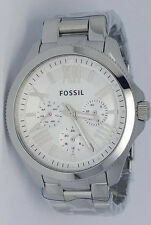 Fossil AM4509 Cecile Multifunction Silver-Tone Stainless Women's Ladies Watch
