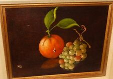 RINI ORIGINAL OIL CANVAS STILL LIFE FRUIT PAINTING