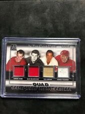 2016-17 ITG Used Quad Jerseys Howe/ Delvecchio/Lindsay/Fedorov Detroit Red Wings