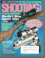 Shooting Times Gun Reviews October 2003 Marlin's New Model 1894, Shotgun Section