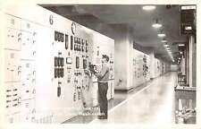 Grand Coulee Dam Washington Generator Control Real Photo Antique Postcard J60416