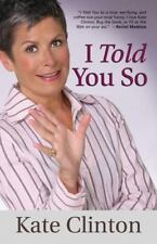 I TOLD YOU SO by KATE CLINTON VERY FUNNY TOPICAL LESBIAN COMEDIAN 2009 Dj NEW