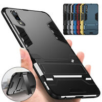 Shockproof Hybrid Rugged Armor Stand Hard Case Cover For Huawei Mate 20 P20 Pro