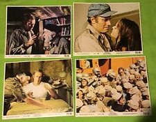 "1973 ~ MGM presents ~ ""SOYLENT GREEN"" ~ Charlton Heston ~ Lot of 4 Photos"