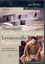 Mascagni Cavalleria Rusticana Leoncavallo Pagliacci DVD NEW Jesus Lopez Cobos