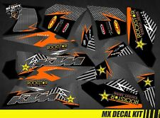 Kit Déco Quad / Atv Decal Kit Ktm XC SX - Rockstar