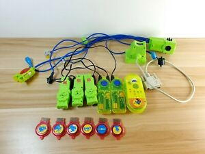 Vintage Cyber Knex Motors Parts Lot - K'nex Space Robot Specialty Pieces Tested