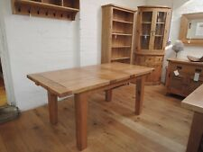 VANCOUVER OAK BUTTERFLY LEAF TABLE 140cm EXTENDING TO 180cm NB005EX/WR