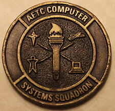 Air Education & Training Command Computer Systems Sq Air Force Challenge Coin