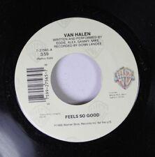 Rock 45 Van Halen - Feels So Good / Sucker In A 3 Piece On Wb Records
