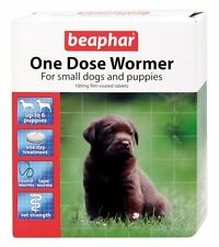 Beaphar One Dose Wormer Tablet Worming for Small Dogs & puppies (6 tablet pack)
