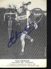 Patrice THEVENARD  cyclisme cycling signée BIC autographe radsport cyclo-cross