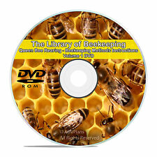 The Master Library of Beekeeping, Rearing Queen Bees Honey Making, Bee Care -V57