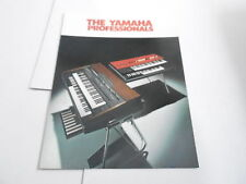 VINTAGE MUSICAL INSTRUMENT CATALOG #10303 - YAMAHA PROFESSIONAL KEYBOARDS