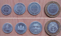 Cambodia coins set of 4 pieces AU-UNC