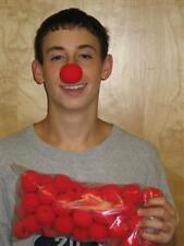 """Clown Noses - Sponge - 1.5"""" (50 Per Bag) Bulk MAGIC TRICK Funny Gag Laugh"""
