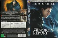 (2 DVD's) [Special Edition] Minority Report - Tom Cruise, Colin Farrell  (2002)