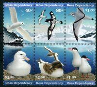 Ross Inseln 6er MiNr. 44-49 postfrisch MNH Vögel (Vög1924