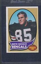 1970 Topps #187 Martin Baccaglio Bengals EX *881