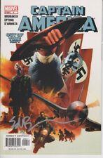 CAPTAIN AMERICA #6 - SIGNED BY ED BRUBAKER - 1st FULL REVEAL WINTER SOLDIER