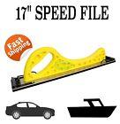 "HAND SPEED FILE BLOCK SANDING BOARD 17"" PANEL AUTO CAR DENT BOG SPRAY SPEEDFILE"