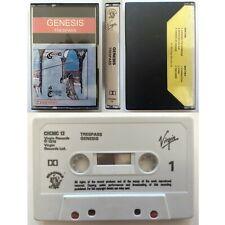 GENESIS Trespass (Cassette Tape) Charisma / Virgin Ex Condition