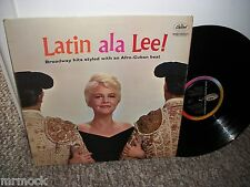 PEGGY LEE- LATIN ALA LEE VINYL ALBUM