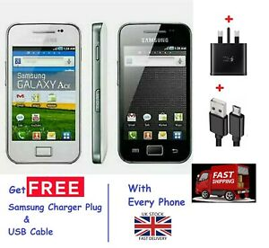 Grade A NEW Condition Samsung Galaxy Ace GT-S5830i Unlocked Android Smart Phone